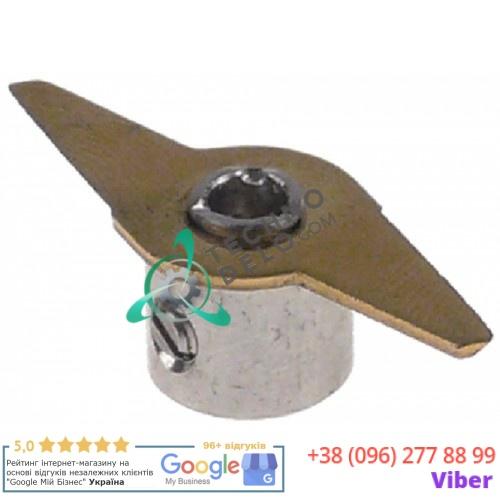 Нож ø39мм/ø4мм H12мм блендера Dynamic, Horeca Select и др.