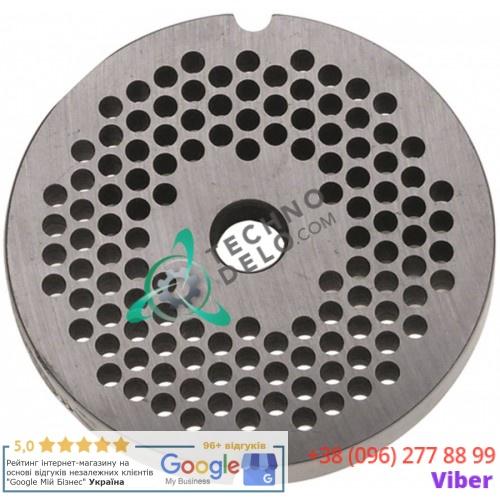 Решетка (Enterprise) для мясорубки mod. 12, ячейка 4,5мм /под горловину - Ø 70мм