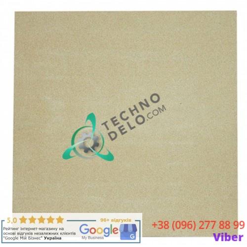 Камень подовый (шамотный) 500x500x17мм CO1207 TAVEL007 для пицца-печи MEC, Fimar MINI, GGF и др.