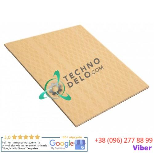 Плита термостойкая (шамотный камень нижний) 625x500x15мм K105/65 14 для пицца-печи Fornitalia