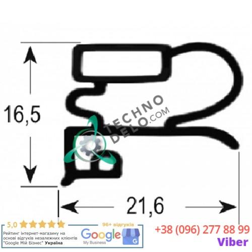 Уплотнитель 540x670мм профиль 9030 для Zanussi 133-01-110, 133-01-111, 133-06-110, 133-06-111 и др.
