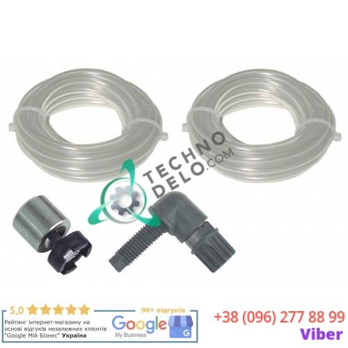 Монтажный комплект дозатора (4x6мм L-2м материал PVC) для моющего средства