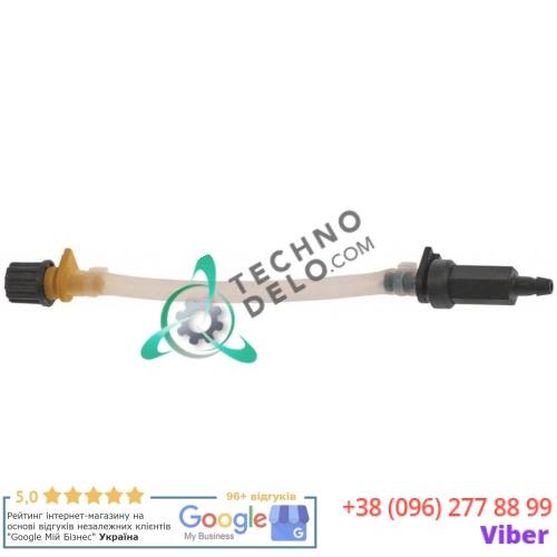 Шланг Sekobril тип E дозатора SEKO ø3x8мм с обратным клапаном для ополаскивающего средства