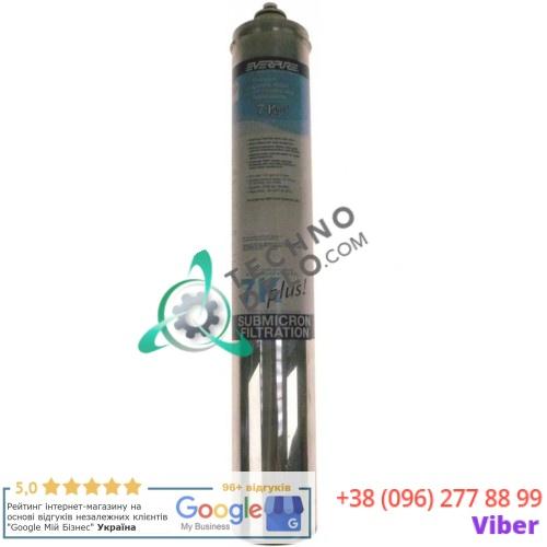 Фильтр водяной Everpure 7K Plus 378 л/ч 0,5 мкм D-80мм H-350мм под тип головки QL2/QL3 для кухонного оборудования