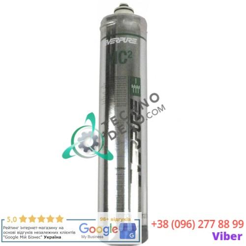 Фильтр водяной Everpure 4DC EV960146 114 л/ч 0,5 мкм D-80мм H-370мм под тип головки QL2/QL3 для холодильного оборудования