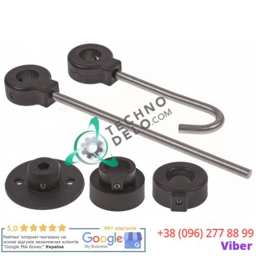 Крепеж настенный для ручного душа (длина 49-230мм под шестигранный ключ 2,5 мм)