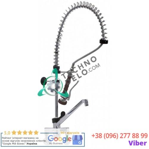 Душ ручной GASTROTOP CLASSIC Standard 1/2 с настенным краном-смесителем и изливом 200x215мм