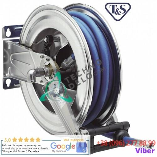"""Катушка моющего шланга T&S ESA Hose Reels L-20м 1/2"""" DN12мм CNS для настенного монтажа"""