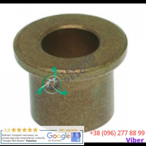 Втулка бронзовая (ø16/ø8мм H-12мм) 0604 для миксера Dynamic MMX/92, PMX/83