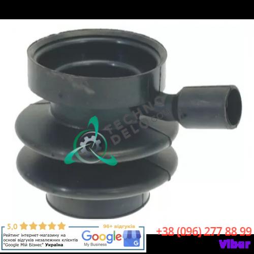 Муфта сливного клапана Depend-O-Drain (ø18/52/63мм) 101750 для Grandimpianti, Polimatic, Primus и др.