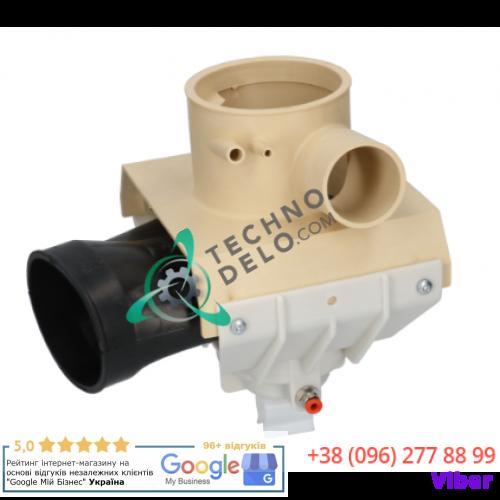 Клапан воздушный (ø86/ø76мм шланг ø44мм) 0E1350 для Zanussi Professional LB121E, LB81E, W100, W75 и др.