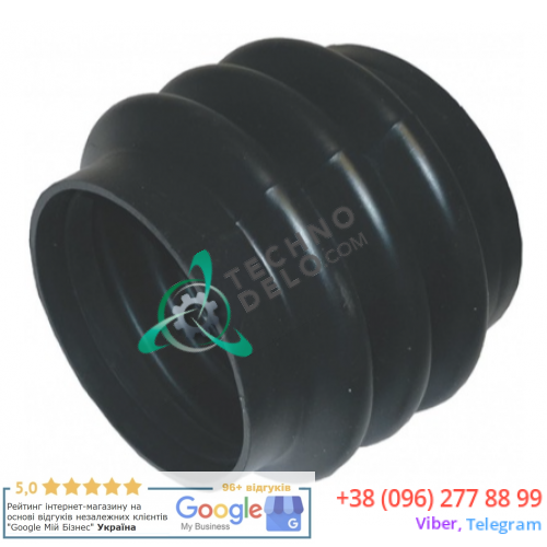 Манжета бака (L=115 мм, ø105 мм) 422230011500 пром. стиральной машины Grandimpianti, IPSO, Danube и др.