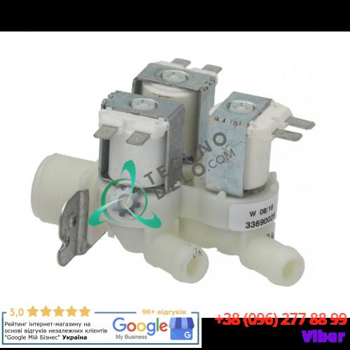"Клапан электромагнитный ELBI 369 (90°C 230В 3/4"" ø13.5мм) 483286008635 для Whirlpool, Imesa, AGA и др."