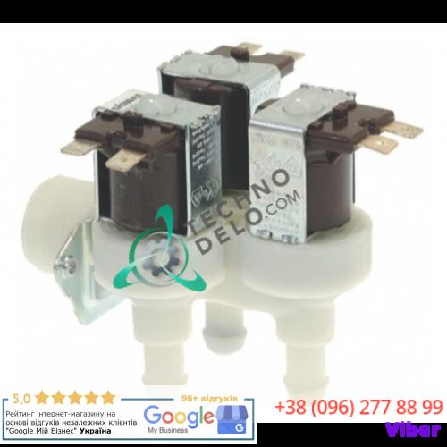 """Клапан электромагнитный тройной ELBI 359 (230В 3/4"""" ø10,5мм 2 л/мин.) 101832 для Grandimpianti, Polimatic, Primus"""