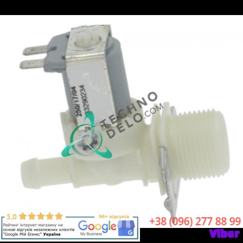 """Клапан электромагнитный ELBI 329 (12В 3/4"""" ø10.5мм) 323329 проф. стиральной машины Girbau EH020 и др."""