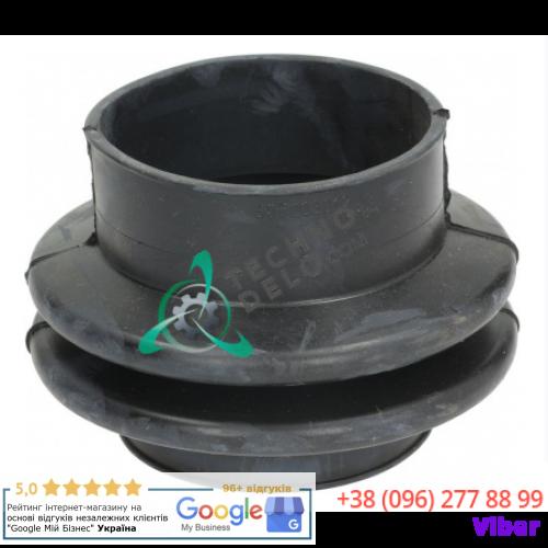 Отвод (шланг ø80мм L-75мм) PRI505003012 для сливного клапана Depend-O-Drain