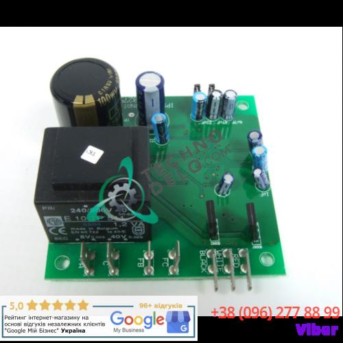Плата электронная (170x110 мм) 209/00275/04 для замка проф. стиральной машины Grandimpianti, IPSO, Danube и др.