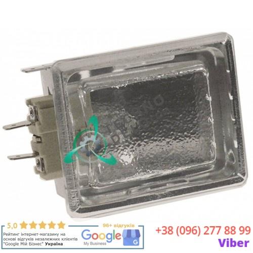 Лампа печи +500°С (монтаж 55x70мм/G9/230В/25Вт) термостойкий комплект с лампочкой