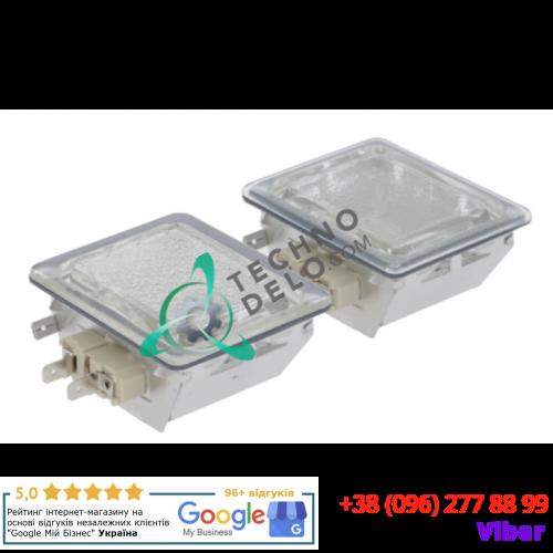 Лампы в комплекте (230В/40Вт G9 монт. 55x70мм) LAM00004 для печи Piron, Tecnodom