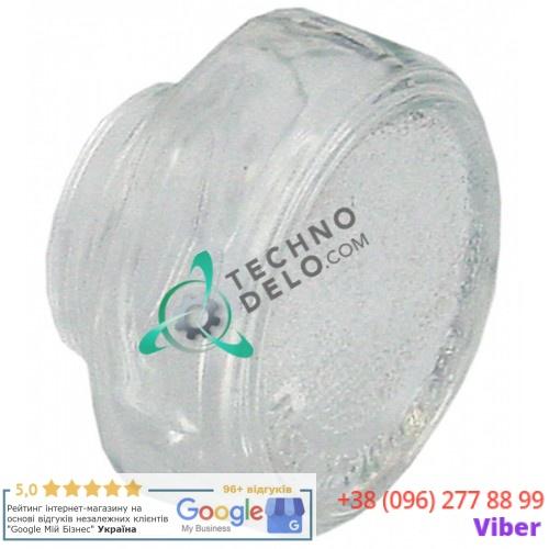Плафон стеклянный термостойкий +350 °C (D-58мм резьба 32мм) для лампы печи