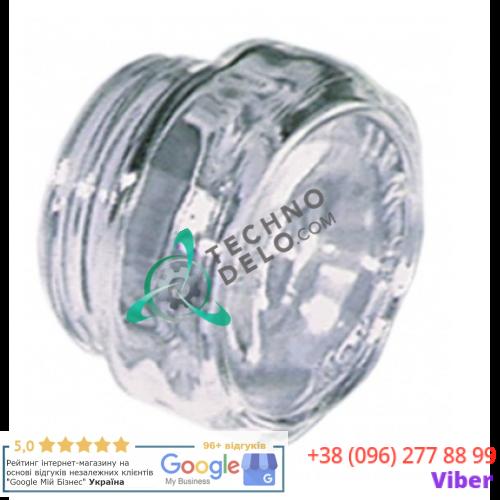 Плафон стеклянный термостойкий +350 °C (D-42мм резьба 33.5мм) для лампы печи