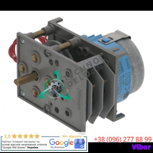 Таймер Fiber P375J02H435 150 секунд 230В ось 6x4,6x18мм 2512 для посудомоечной машины ATA и др.