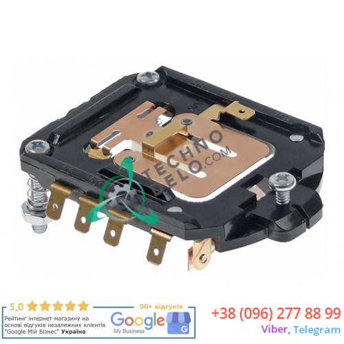 Переключатель скорости 240904 / KA4162402 штекер F4,8x0,8 для оборудования Dito, Fimar, Kitchenaid и др.
