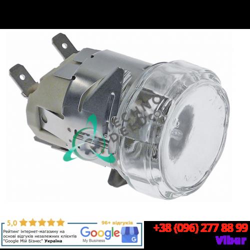 Лампа печи G9 +300°C (25Вт/230В/монтаж ø 35мм) термостойкий комплект с лампочкой / универсальный
