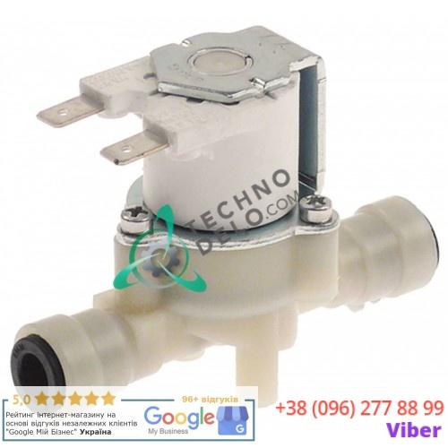 Клапан электромагнитный RPE (230VAC вход/выход JG 8) KEL1411A для печи Unox XBC 1005E, 505E, 705E и др.