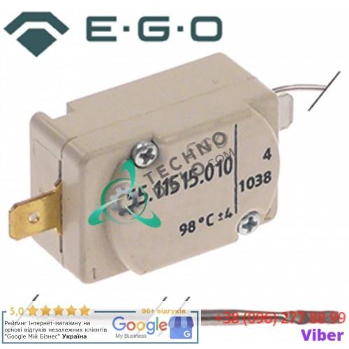 Термостат защитный EGO 55.11515.010 (выкл. при 98°C, 1 фаза) 3125022 для Winterhalter GS23S, GS24 и др.