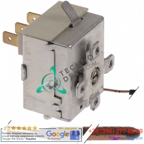 Термостат IMIT 541313/A (0-87°C 1CO 16A) L2060 для посудомоечного оборудования Luxia, Dihr и др.
