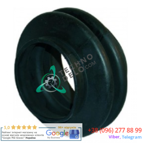 Муфта слива (L-65мм) 50530003012 для проф. стиральной машины Grandimpianti, Primus, Whirlpool и др.