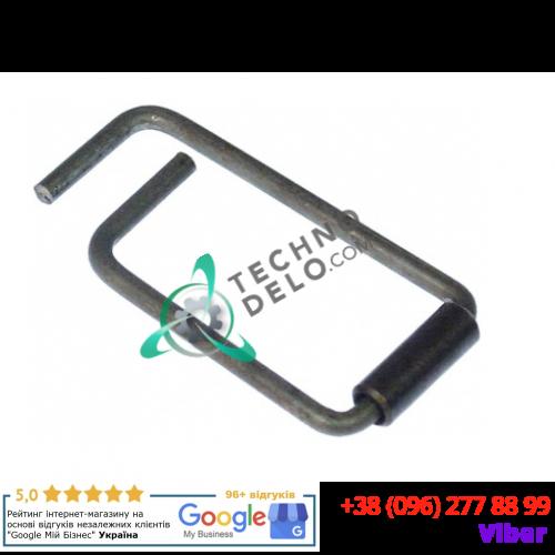 Пружина дверной ручки (ø6мм 54x27,5мм) 0C6978 для оборудования Alphatech, Ambach, Angelo-Po, Lainox и др.