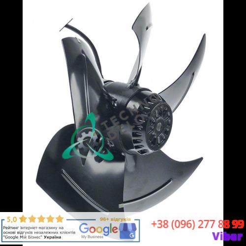 Вентилятор EBM-Papst A4E350-AQ02-09 230В 180/275Вт 1420/1660 об/мин крыльчатка D-350мм 5 лопастей
