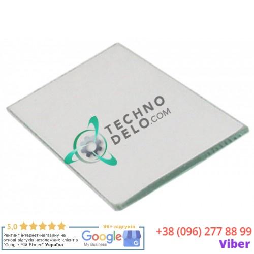 Стекло термостойкое для лампочки 180x90x6мм CRIS0006 для пицца печи Zanolli T Polis и др.
