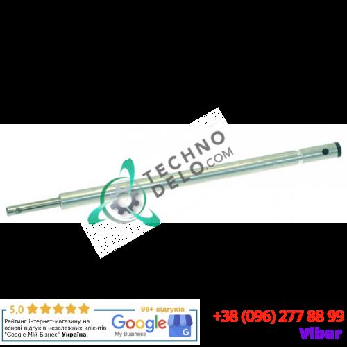 Вал приводной с муфтой (длина общ. 295мм, 11 зубьев) 8309 для миксера Dynamic PMX-83, PMX-98, Senior MX 300