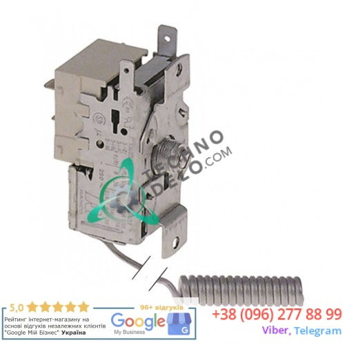 Термостат Ranco K22-L1020 086033 / температура -20.5 до -1.5 °C для Angelo Po, Electrolux, Scotsman, Simag и др.