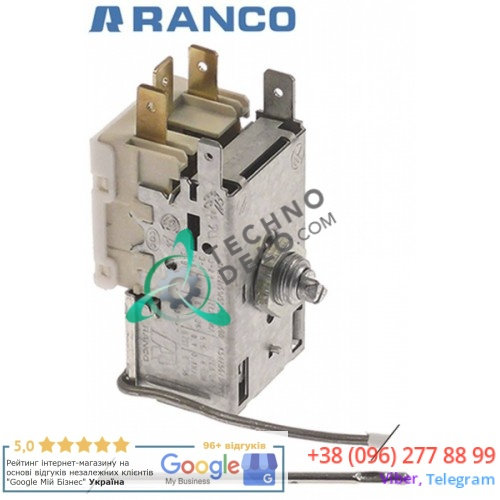 Термостат Ranco K22-L1082 NR23591 / -22 до -3 °C для Brema, NTF и др.