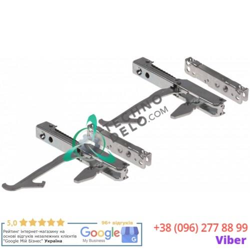 Петли дверные CR065 для печи конвекционной Unox Rossella XF090P, Bartscher 105780 и др. (комплект петли + ответки)